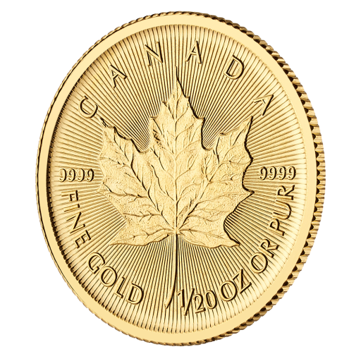 1/20 oz Maple Leaf Gold Coin (2019)