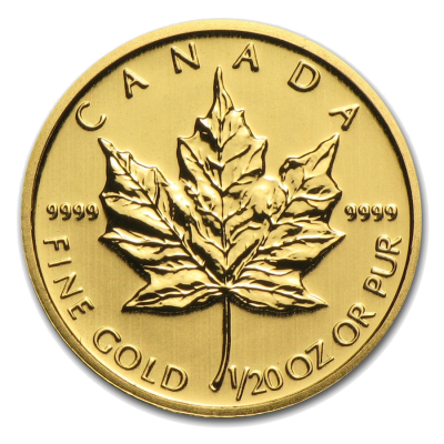 1/20 oz Maple Leaf | Gold | mixed years