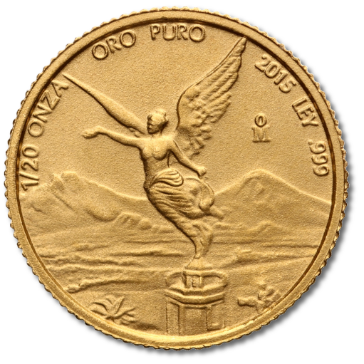 1/20 oz Mexican Libertad | Gold | 2015