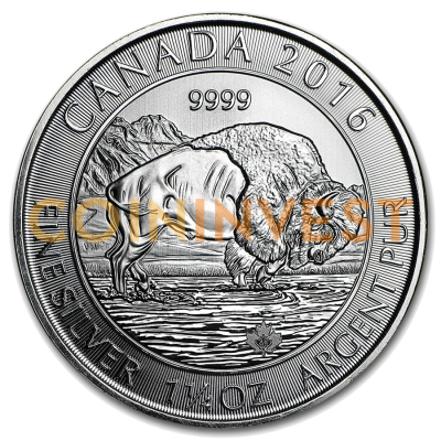 1.25 oz Bison Canadien | Argent | 2016