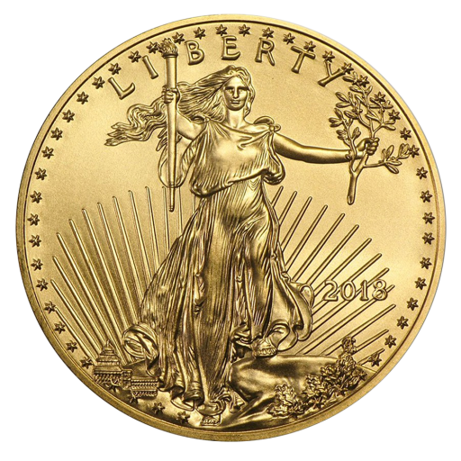 1/4 oz American Eagle d' Or (2018)