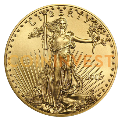 1/4 oz American Eagle Goldmünze (2018)