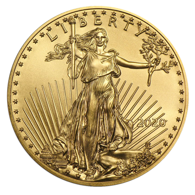 1/4 oz American Eagle Gold Coin (2020)