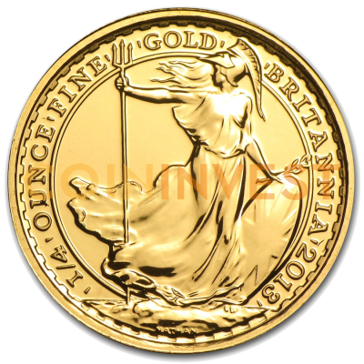 1/4 oz Britannia Gold Coin (mixed years)