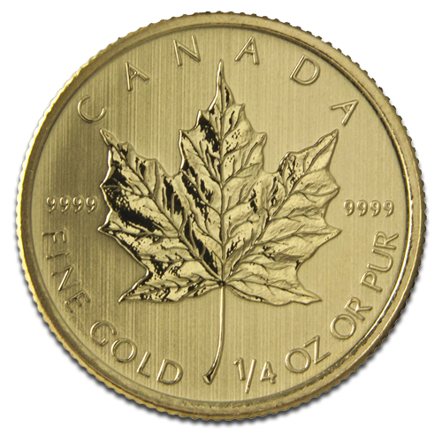 1/4 oz Maple Leaf | Gold | 2013