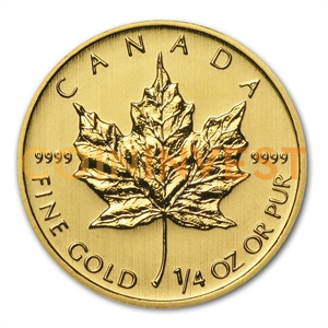 1/4 oz Maple Leaf | Or | 2014