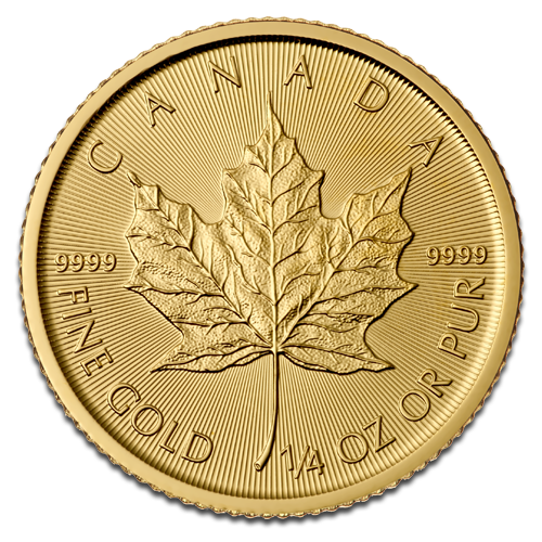 1/4 oz Maple Leaf | Oro | 2015
