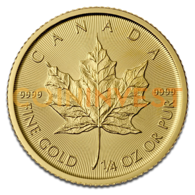 1/4 oz Maple Leaf | Oro | 2016