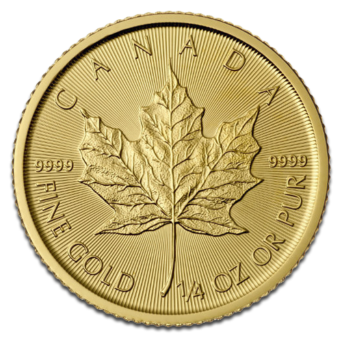 1/4 oz Maple Leaf | Gold | 2016