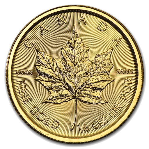 1/4 oz Maple Leaf | Gold | 2017