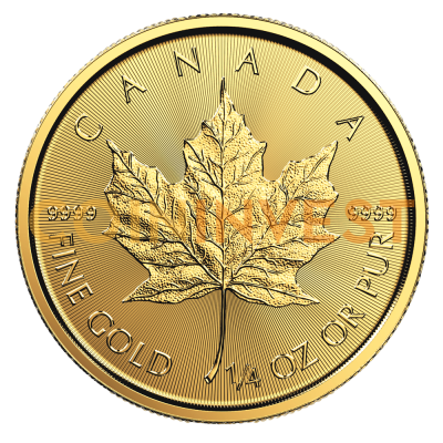 1/4 oz Maple Leaf Gold Coin (2018)