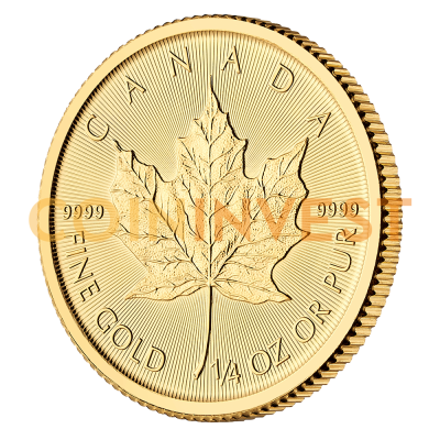 1/4 oz Maple Leaf Gold Coin (2019)