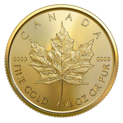 1/4 oz Maple Leaf Gold Coin (2020)
