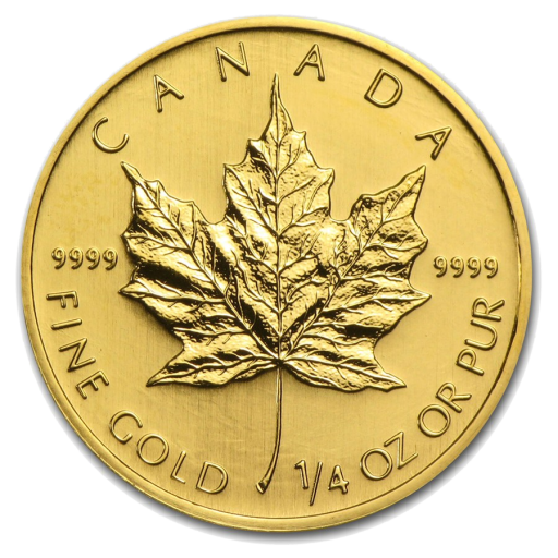 1/4 oz Maple Leaf | Oro | anni diversi