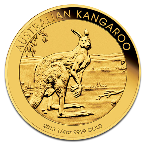 1/4 oz Nugget Kangaroo | Gold | 2013