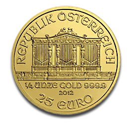 1/4 oz Vienna Philharmonic | Gold | 2012