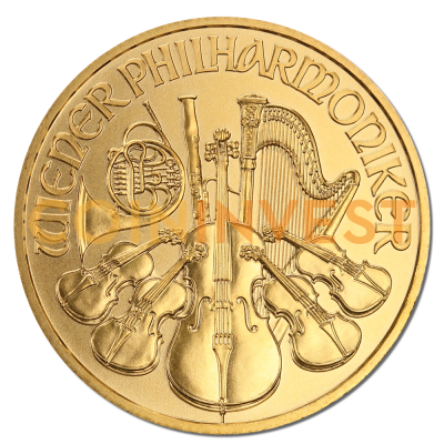 1/4 oz Vienna Philharmonic | Gold | 2017