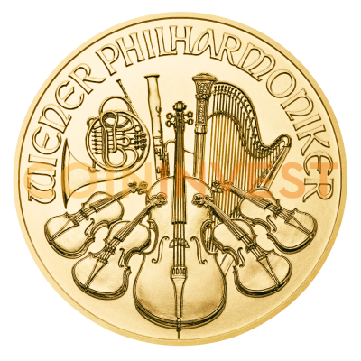 1/4 oz Wiener Philharmoniker Goldmünze 2018
