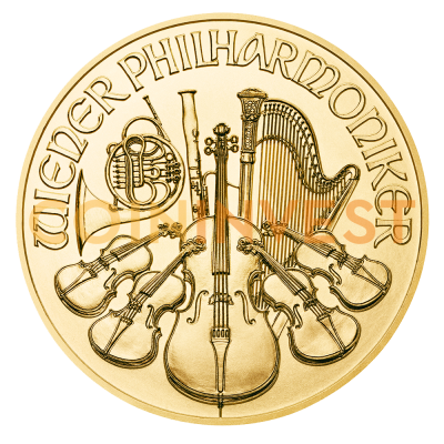 1/4 oz Vienna Philharmonic Gold Coin (2019)