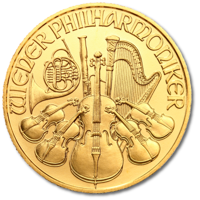 1/4 oz Vienna Philharmonic | Gold | mixed years