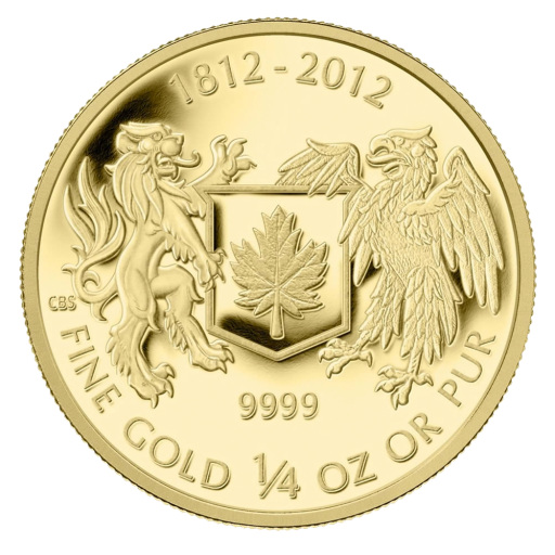 1/4 oz War of 1812 Gold Coin (2012)