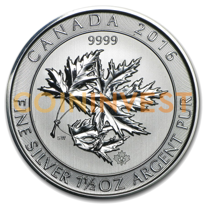 1.5 oz Multi Maple Leaf | Silber | 2016