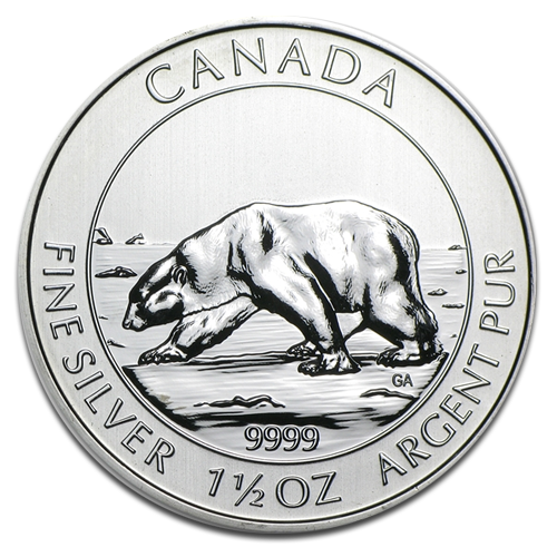 1.5 oz Polar Bear | Silver | 2013