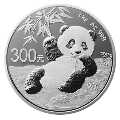1 Kilo Panda China Proof | Plata | 2020