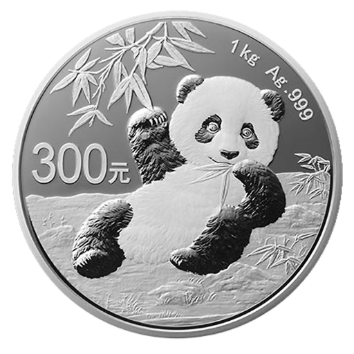 1 Kilo China Panda Silver Proof Coin (2020)