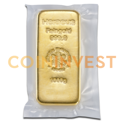 1 Kilo Gold Bar | Different Manufacturers