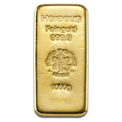 1 Kilo Gold Bar | Heraeus
