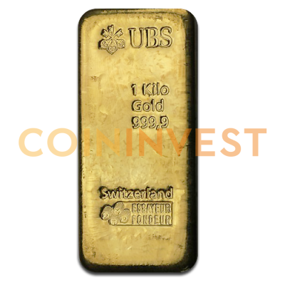 1 Kilo Gold Bar | UBS