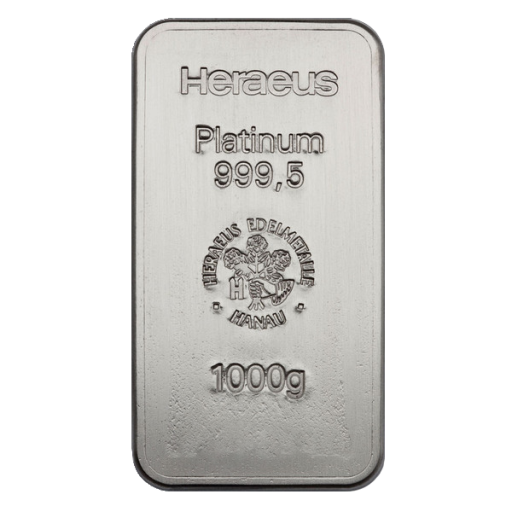 1 Kilo Platinum Bar | different manufacturers