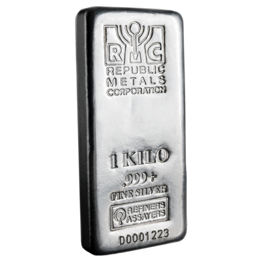 1 Kg Lingotto d' argento | Republic Metals