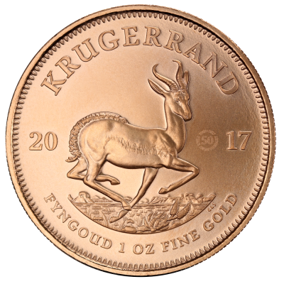 1 oz Gold Krugerrand 50th Anniversary (2017)