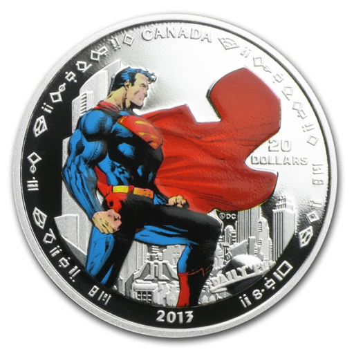 1 oz 75th Anniversary of Superman™ - Man of Steel | Silver | 2013