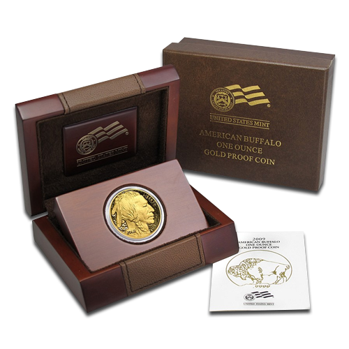 1 oz American Buffalo | Gold | 2015 | Proof | Wooden Box