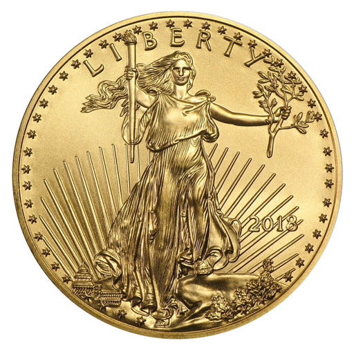 1 oz American Eagle Goldmünze (2018)