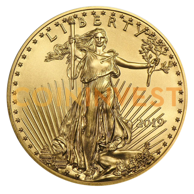 1 oz American Eagle Gold Coin (2019)