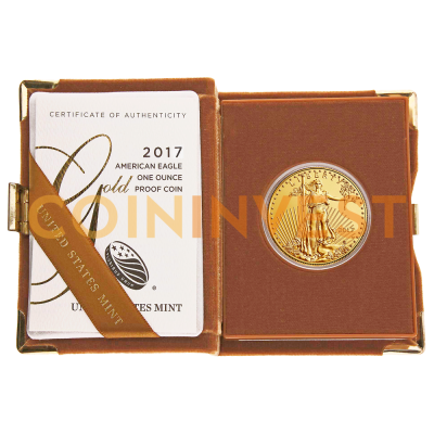 1 oz American Eagle | Or | Proof | 2017