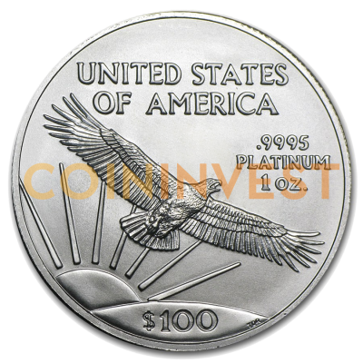 1 oz American Eagle | Platinum | mixed years