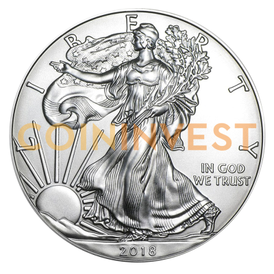1 oz American Eagle Silver Coin (2018)