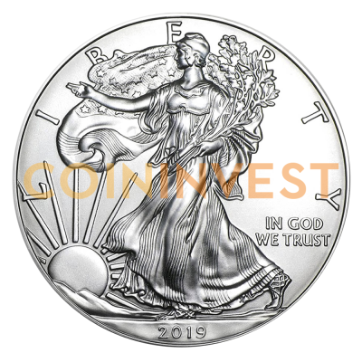 1 oz American Eagle Silver Coin (2019)