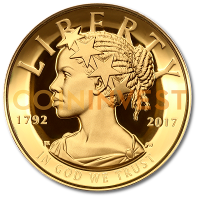 1 oz American Liberty 225th Anniversary | Or | 2017