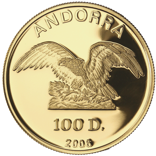 1 oz Andorra Diners | Or | 2006