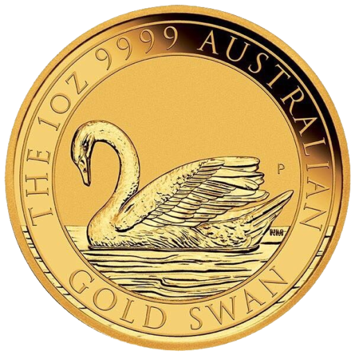 1 oz Perth Mint Gold Swan (2017)