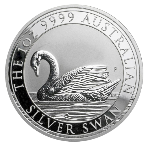 1 oz Perth Mint Silver Swan (2017)