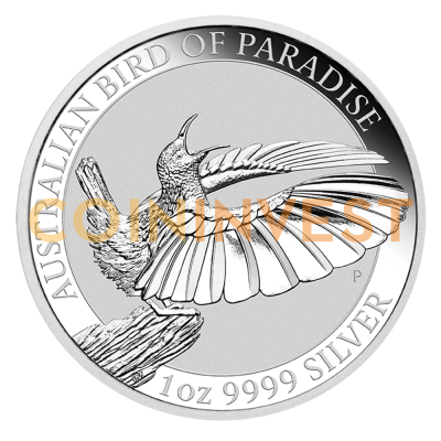 1 oz Birds of Paradise Victoria's Riflebird Silver Coin (2018)