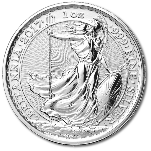 1oz Britannia Silver Coin 2017 20th Anniversary Edition