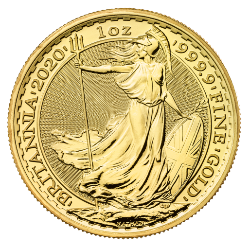 1 oz Britannia Goldmünze (2020)